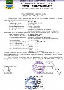 About Us Profile Mitra Setia Group - Dokumen Legalitas CV Mitra Setia Jaya Cikarang - Domisili