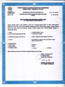 About Us Profile Mitra Setia Group - Dokumen Legalitas CV Mitra Setia Jaya Cikarang - PKP
