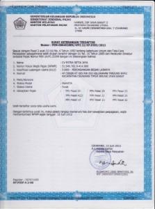 About Us Profile Mitra Setia Group - Dokumen Legalitas CV Mitra Setia Jaya Cikarang - SKT