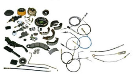 Products Forklift Sparepart Katalog Lengkap - Brakes and cables