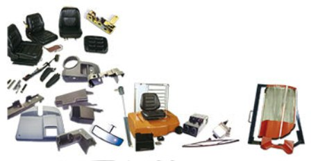 Products Forklift Sparepart Katalog Lengkap - Cabs, seats and hoods