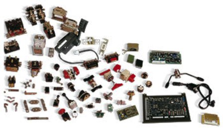 Products Forklift Sparepart Katalog Lengkap - Electrical control systems and components