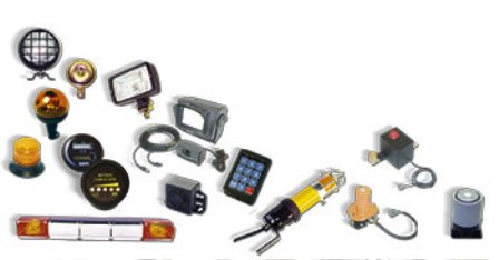 Products Forklift Sparepart Katalog Lengkap - Electrical equipment and accessories
