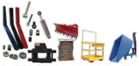 Products Forklift Sparepart Katalog Lengkap - Mast parts and attachments