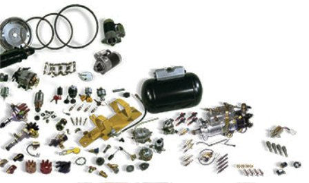 Products Forklift Sparepart Katalog Lengkap - Starters, ignition and fuel systems
