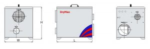 Drymax Dehumidifer DM 600RS L
